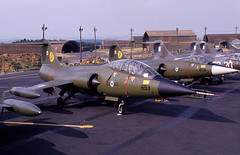 Lockheed CF-104D Starfighter 104653 439 Sqn 1CAG 25-06-74
