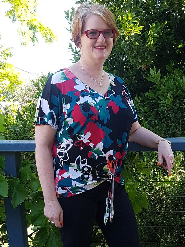 Cashmerette Cedar dolman top in knit from The Cloth Shop Ivanhoe