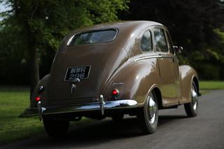 Jowett Javelin Saloon Car - 1950  (2)