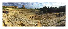 Syracuse, Greek Theatre, Sicily.