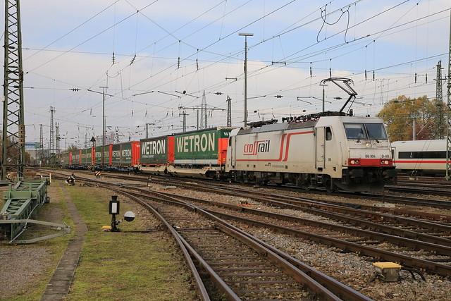 Cargologistic 186 904-9 Melzo Shuttle, Basel Bad Bhf