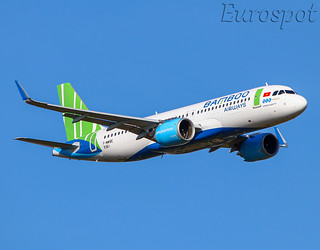 F-WWBE Airbus A320 Bamboo Airways