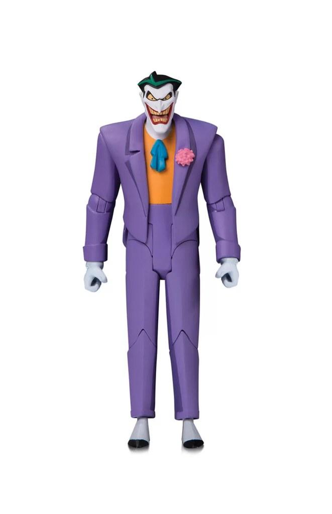經典的動畫造型,犯罪王子再歸來! DC Collectibles Batman: The Adventures Continue 系列【小丑】The Joker 6 吋可動人偶