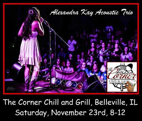 Alexandra Kay Acoustic Trio 11-23-19