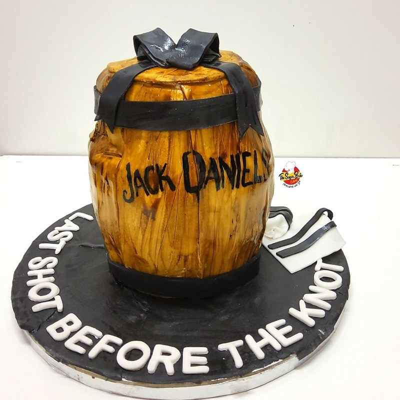 Jack Daniel's Cake by The Sugar Babe