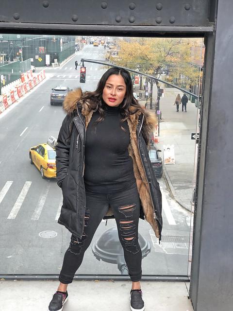 Picture Taken Of Carolina At The Highline Park In New York City. Photo Taken Sunday November 17, 2019.