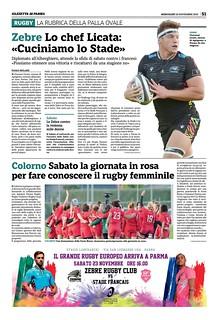 Gazzetta di Parma 20.11.19 - pag 59