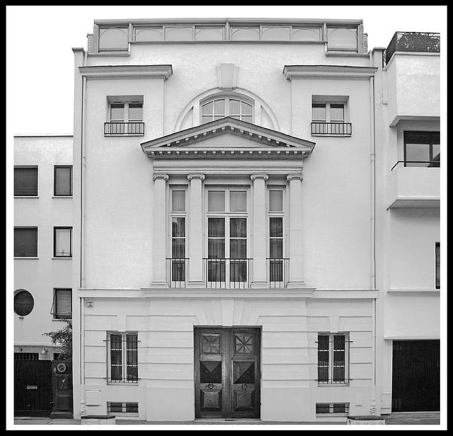 Hôtel Gilbert des Crances [1928-31]- Boulogne Billancourt