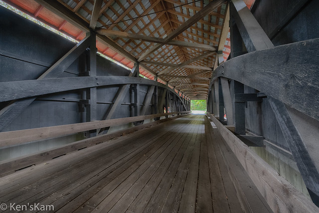 Bakers Camp Covered Bridge