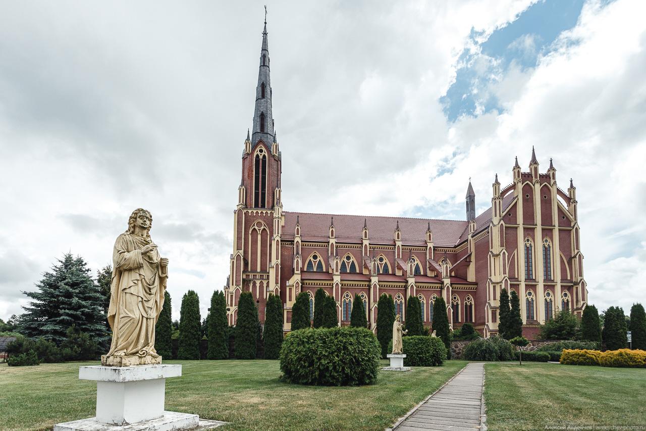 Церковь Святой троицы в Гервятах