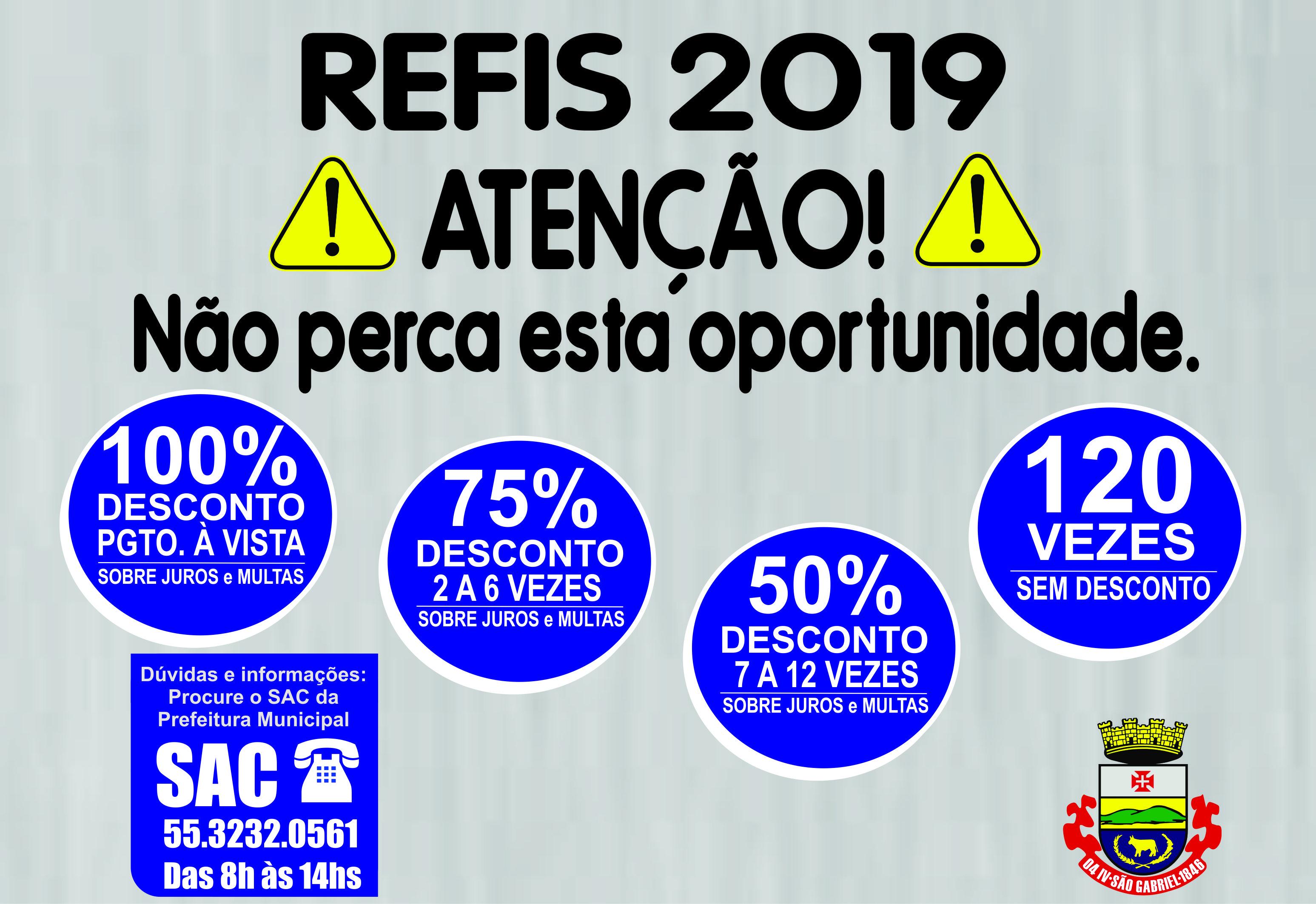 Não perca a oportunidade com o REFIS da Prefeitura de São Gabriel