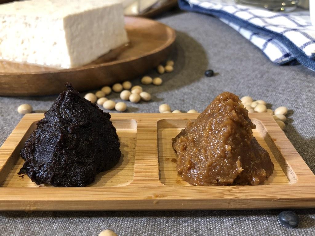國產大豆製作的味噌。攝影:廖靜蕙