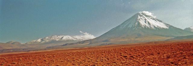 CHILE 2001 - San Pedro de Atacama / Volcan Licancabur