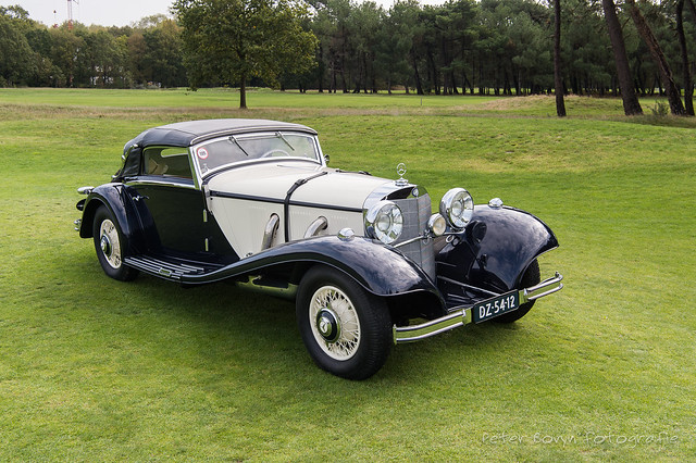Mercedes 540 K Cabriolet A - 1936