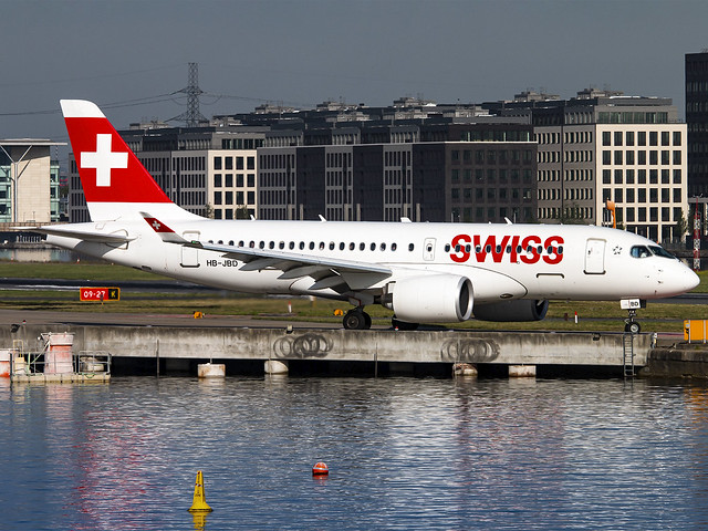 Swiss International Air Lines | Bombardier CSeries CS100 | HB-JBD