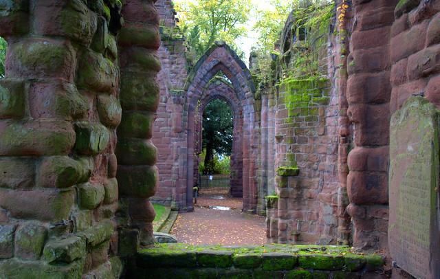 St John's Ruins in Chester