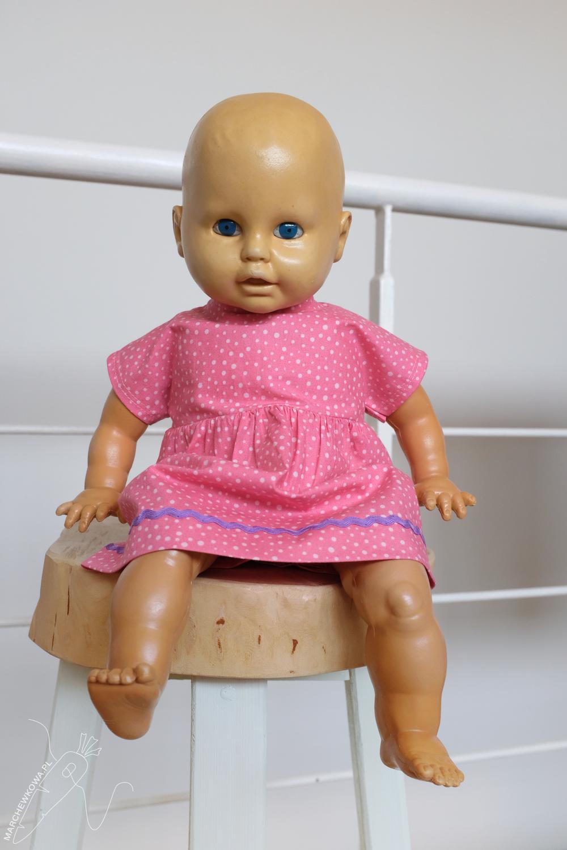 marchewkowa, blog, szycie, krawiectwo, stara lalka, naprawa, sewing, carrot, DIY, baby doll, creepy