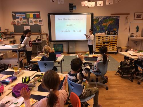 Schüler unterrichten Schüler 2a