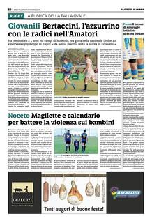 Gazzetta di Parma 20.11.19 - pag 58