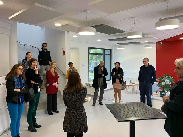 Inauguration des nouveaux locaux sur le campus Joseph Aiguier à Marseille le 19 novembre 2019