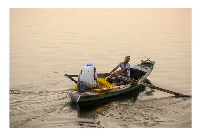 Returning Fishermen | Esna, Egypt