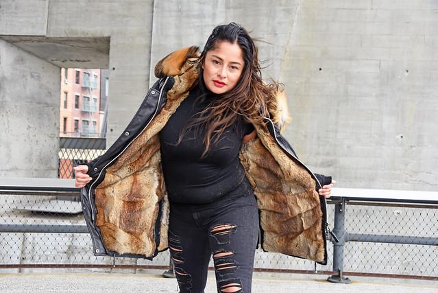 Picture Taken Of Carolina At The Highline Park In New York City. Photo Taken Sunday November 17, 2019