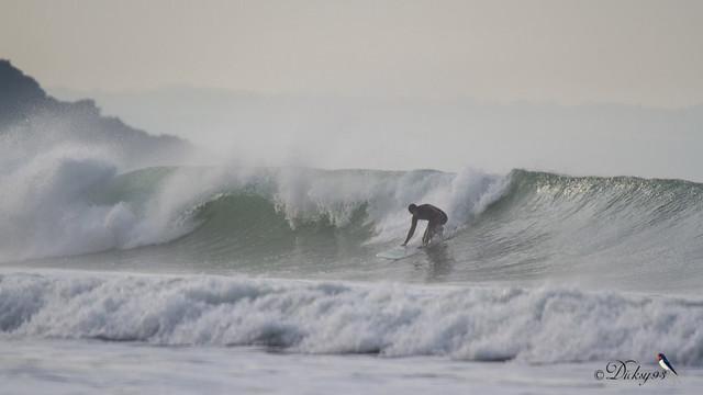 Surf à Saint-Pabu