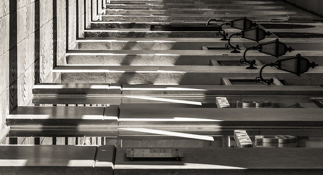 Luces, sombras, barras...