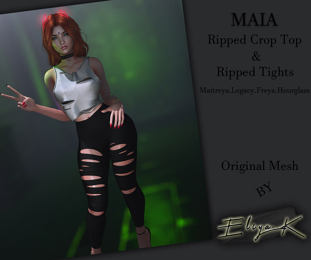 Maia Outfit coming Out at SHINY SHABBY – Nov. 20th