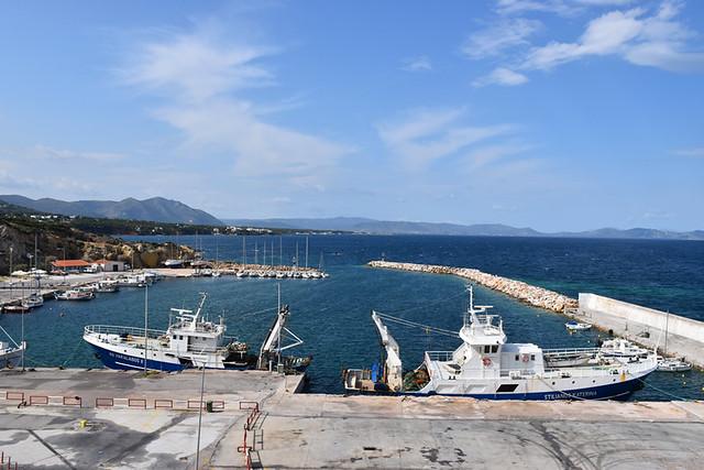 Ferry port, Rafina