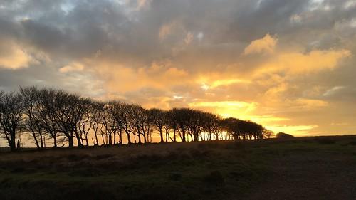 Sunset on Exmoor