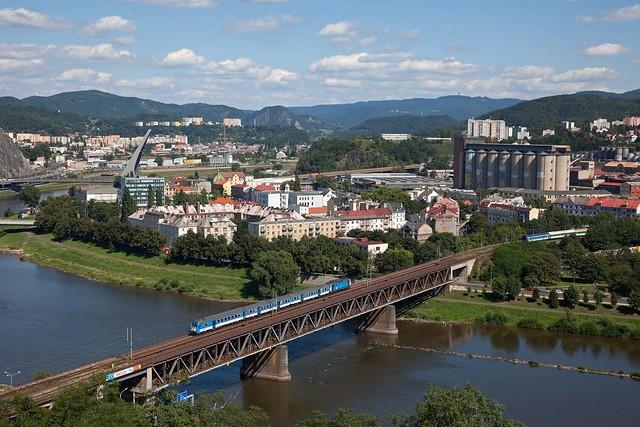 CD trein Os 6456 Steti - Usti nad Labem Zapad  - Usti nad Labem
