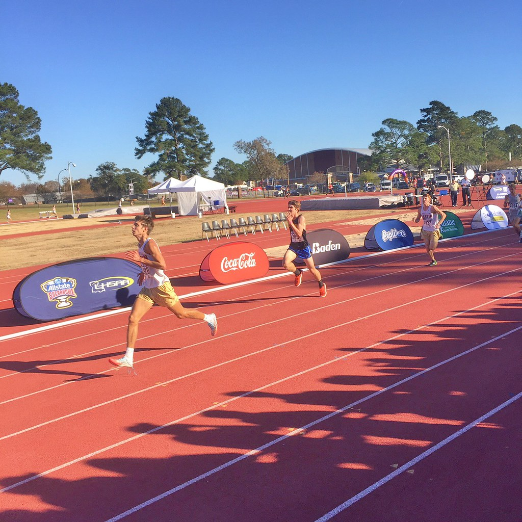 Cross Country in State Meet