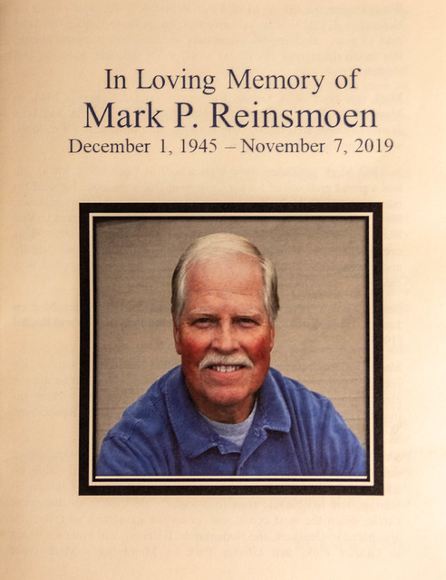 Mark Reinsmoen Celebration of Life