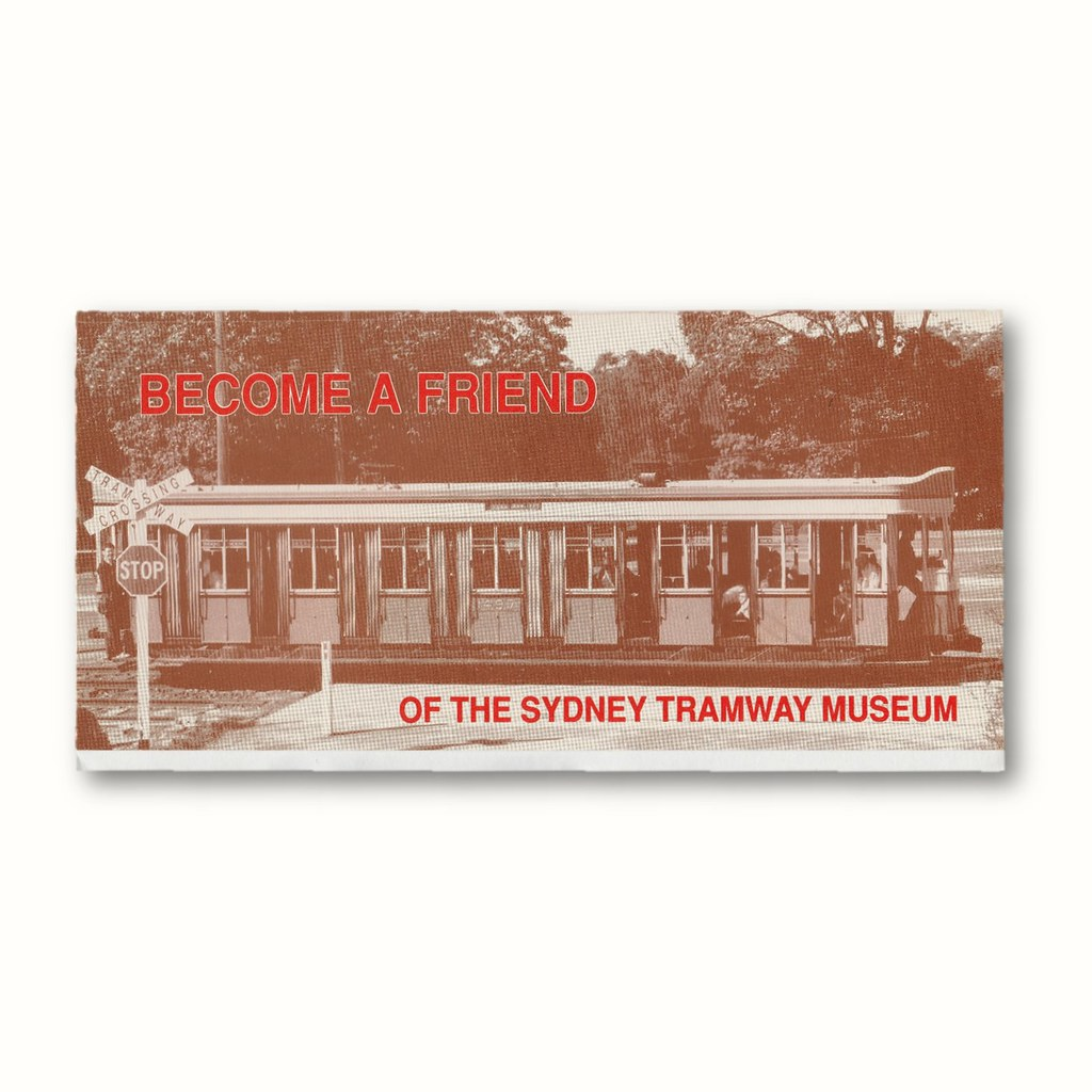 Become a friend of the Sydney Tramway Museum
