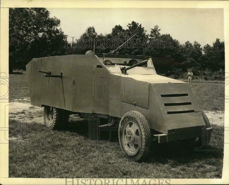 Blitz-37mm-AT-gun-carrier-Major-Howard-P-Johnson-Ft-Meade-19410718-hi-1