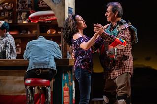 Sarita Ocón and Emilio Delgado in Quixote Nuevo