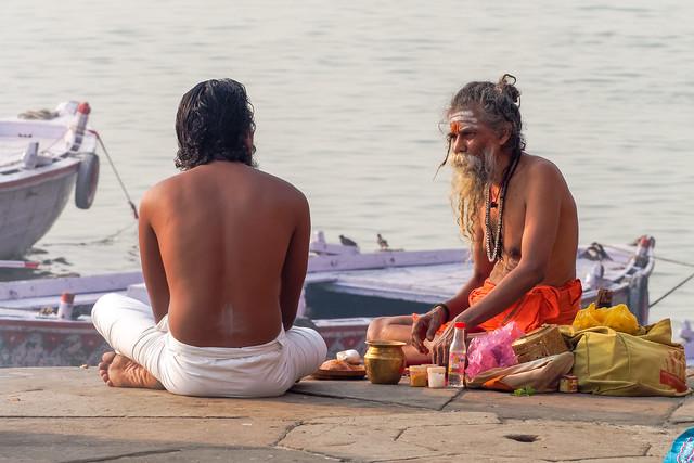 Voie sacrée..Sacred Way....India