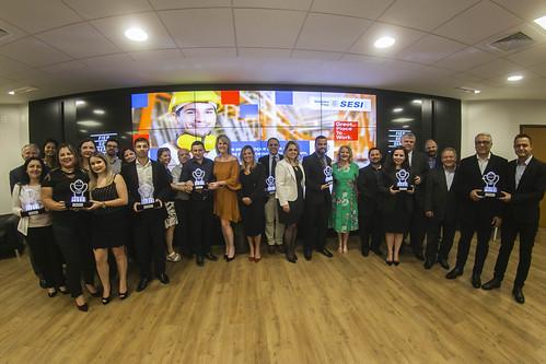 Troféu Sesi de melhores práticas em segurança, saúde e bem-estar 2019