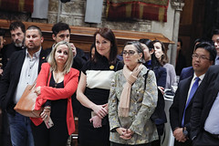 Tue, 19/11/2019 - 21:01 - Barcelona 19.11.2019  Sopar d'alcaldes al Saló de Cent. Foto Laura Guerrero/Ajuntament de Bcn.