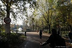 Ingang Oosterpark Amsterdam