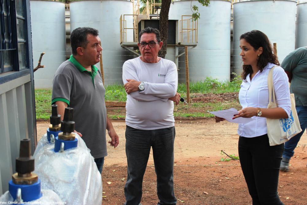 Visita técnica em obra de captação de água em Pirapora - 18 de novembro de 2019