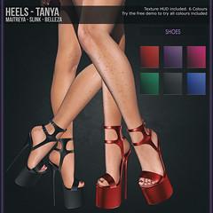 Tooty Fruity - Heels - Tanya