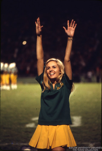Baylor University Yell Leaders, Cheerleaders, 1971 (1)