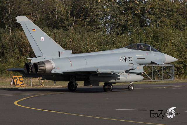 31+30 German Air Force (Luftwaffe) Eurofighter Typhoon