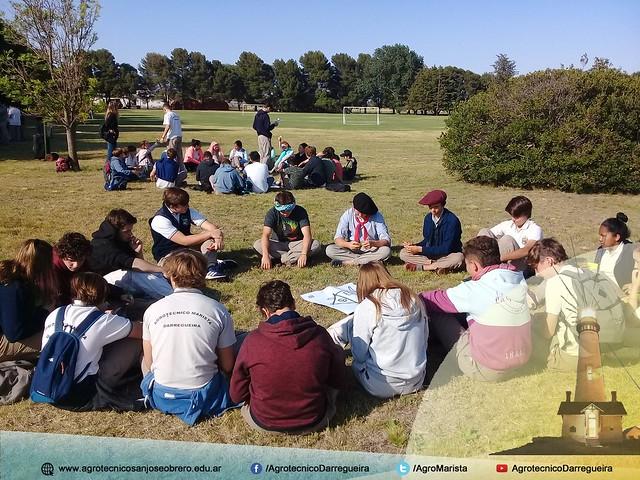 Día de campo y actividades en el Agrotécnico Marista de Darregueira