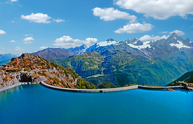 SWITZERLAND - Alps - Emosson Dam