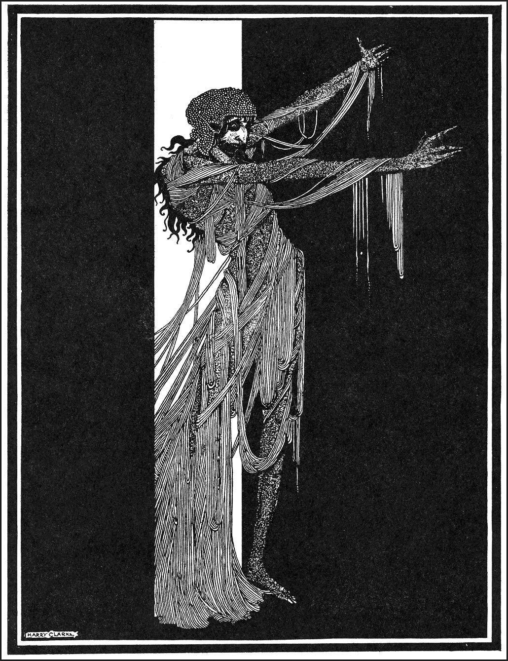 "Harry Clarke - Art for Edgar Allan Poe's ""Fall of the House of Usher"", 1936"