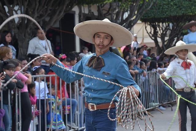Desfile 20 de Noviembre Conmemorando La Revolución Mexicana