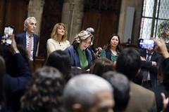 Tue, 19/11/2019 - 21:04 - Barcelona 19.11.2019  Sopar d'alcaldes al Saló de Cent. Foto Laura Guerrero/Ajuntament de Bcn.